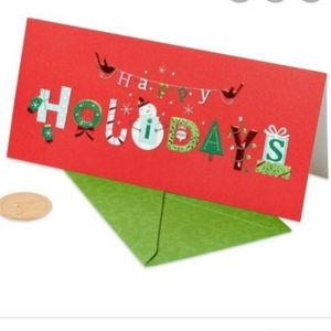 """Papyrus Holiday Cards. """"Happy Holidays"""""""